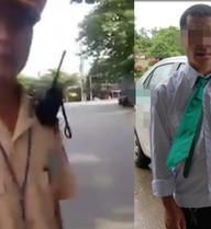 Tranh cãi vụ CSGT bắt lỗi lái xe taxi mặc sai trang phục