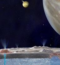 Cột nước phun cao 200.000m hé lộ có một đại dương khổng lồ trên Mặt trăng của sao Mộc