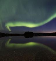 24h qua ảnh: Bắc cực quang tuyệt đẹp ở Thụy Điển