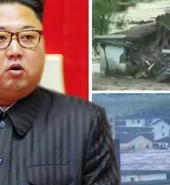 """Lũ lụt kinh hoàng, ông Kim Jong-un xuống nước """"xin"""" viện trợ"""