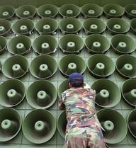 Triều Tiên phát những con số bí ẩn, nghi là tình báo