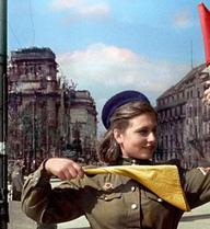 Lần đầu công bố ảnh màu các anh hùng Liên Xô thời Thế chiến II