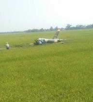 CLIP: Hình ảnh đầu tiên từ hiện trường máy bay L-39 rơi ở Phú Yên