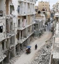 Quân đội Syria vây chặt phe nổi dậy ở chiến trường Đông Aleppo