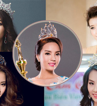 """Hàng loạt Hoa hậu, Á hậu xinh đẹp từng """"bại trận"""" dưới tay Kỳ Duyên"""