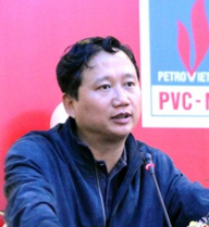 Ông Trịnh Xuân Thanh nghe kết luận của Ủy ban Kiểm tra trung ương