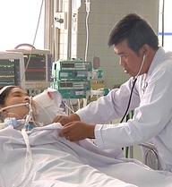 Vừa thi xong đại học, nữ sinh bị ong đốt phù phổi