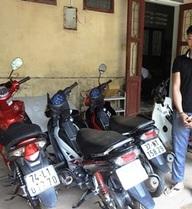 Đối tượng chuyên trộm cắp xe máy sa lưới