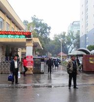 Bệnh viện Việt Đức mổ chân trái lộn sang chân phải