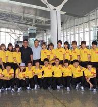 Đội tuyển nữ lên đường đi Myanmar tham dự giải bóng đá nữ vô địch Đông Nam Á 2016