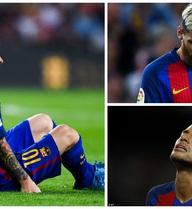 "Barca nhận tin ""sét đánh"" về Messi sau trận hòa Atletico"