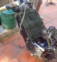 Ngư dân Thanh Hóa vớt được ghế máy bay, nghi của Su-30MK2