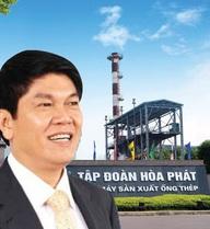 Công ty ông Trần Đình Long đã làm được điều đầu tiên trong lịch sử của Hòa Phát