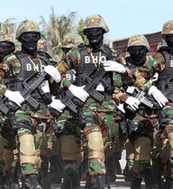 Lực lượng cận vệ thiện chiến của thủ tướng Hun Sen