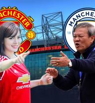 """Tú Linh """"đối đầu"""" HLV Lê Thụy Hải vì derby Manchester"""