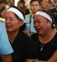 Những hình ảnh xúc động nghẹn ngào tại lễ hỏa táng Đại tá Trần Quang Khải