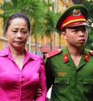 Hoa hậu quý bà Trương Thị Tuyết Nga hầu tòa