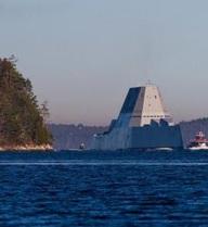 Nước vào động cơ tàu USS Zumwalt: Mỹ nói lỗi nhỏ