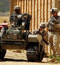 Mỹ trình làng robot chiến đấu cực mạnh