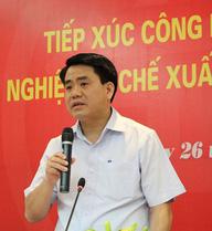 Phê chuẩn kết quả bầu ông Nguyễn Đức Chung làm Chủ tịch TP Hà Nội
