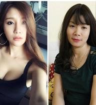 Cận cảnh nhan sắc mẹ trẻ đẹp của hot girl Hạnh Sino