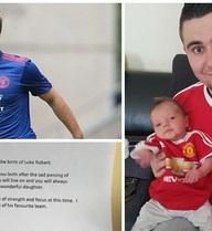 Bức thư xúc động của Luke Shaw gửi cặp vợ chồng fan MU có con qua đời