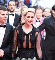 Kristen Stewart mặc đầm xuyên thấu trên thảm đỏ Cannes