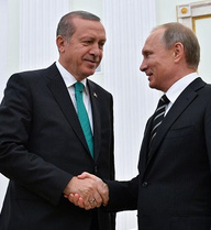 Tổng thống Nga điện đàm với người đồng cấp Thổ Nhĩ Kỳ