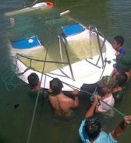 Quảng Nam: Ba ca nô bị chìm tại Cửa Đại