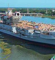 Ấn Độ xây khu xưởng đặc biệt để đóng tàu sân bay