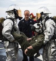 Nếu xảy ra hỏa hoạn trên tàu chiến, các thủy thủ Mỹ làm gì?