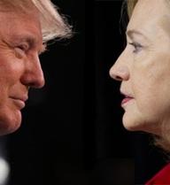"""Bầu cử Mỹ: Bà Clinton vẫn dẫn điểm trước ông Trump ở """"khoảng cách an toàn"""""""