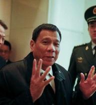 Tổng thống Duterte:Biển Đông không nằm trong chương trình nghị sự