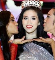 Phản ứng bất ngờ của Hoa hậu Triều Thu khi bị chê dốt tiếng Anh