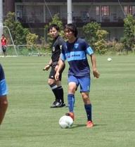 Tuấn Anh ra sân ở trận đấu tập với CLB J.League 2