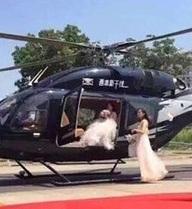 Đón dâu bằng trực thăng? Sự thật không hề lãng mạn như bạn thấy trên ảnh đâu!