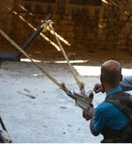 Cận cảnh vũ khí tự chế của quân nổi dậy Syria