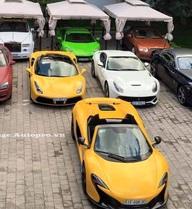 Những hình ảnh siêu xe này chứng minh các đại gia Việt cũng không thua kém gì Dubai