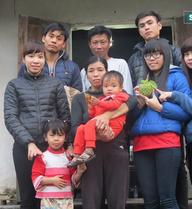 Mơ ước có cái nhà vệ sinh cho bằng hàng xóm của gia đình có con bị bệnh Thalassemia