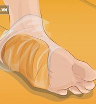 Quấn bánh mỳ và giấm táo vào chân: Nghe hơi lạ nhưng hiệu quả thật không ngờ