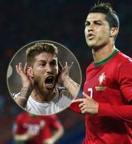 """""""Bạn tốt"""" Ramos mở đường cho Ronaldo vô địch Euro 2016"""