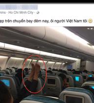 Sốc với người gác chân, kẻ cởi trần, mặc cũng như không trên máy bay