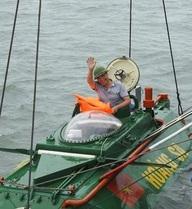 Tàu ngầm Hoàng Sa vượt biển: Thổi lên ngọn lửa đam mê