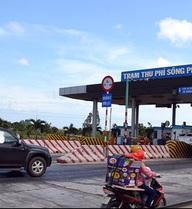 12g trưa 21-5: dừng thu phí trạm Sông Phan trên quốc lộ 1