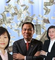 Hé lộ về mức lương khủng của dàn lãnh đạo công ty tỷ phú Phạm Nhật Vượng