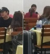 Lộ ảnh Quỳnh Anh Shyn thân mật với B Trần trong quán ăn