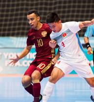 Futsal World Cup: Việt Nam gục ngã trước đội hạng ba thế giới