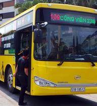 """Sài Gòn có thêm tuyến xe buýt """"năm sao"""" đến sân bay Tân Sơn Nhất"""