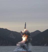 Hàn Quốc tố Triều Tiên vừa phóng tên lửa từ tàu ngầm