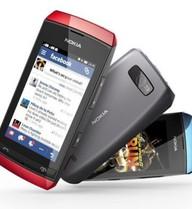 Bộ ba điện thoại Nokia Asha cảm ứng giá rẻ trình làng